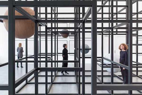 Alicja Kwade - LinienLand - Museum Haus Konstruktiv