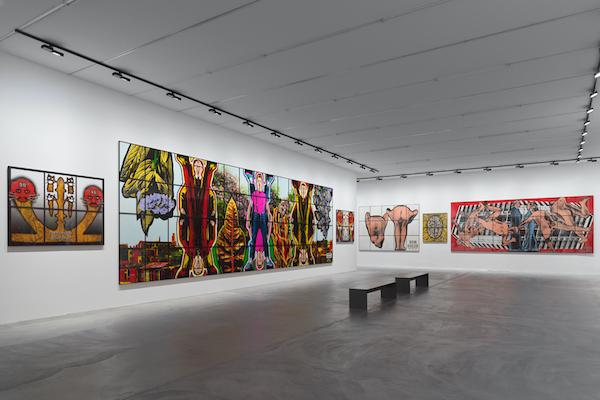 Gilbert & George - Kunsthalle Zurich Luma Westbau